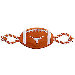 University of Texas Nylon Football Pet Rope Toy