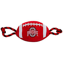 Ohio State University Nylon Football Pet Rope Toy