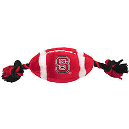 North Carolina State University Nylon Football Pet Rope Toy