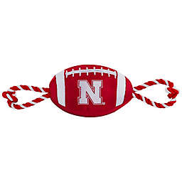 University of Nebraska Nylon Football Pet Rope Toy