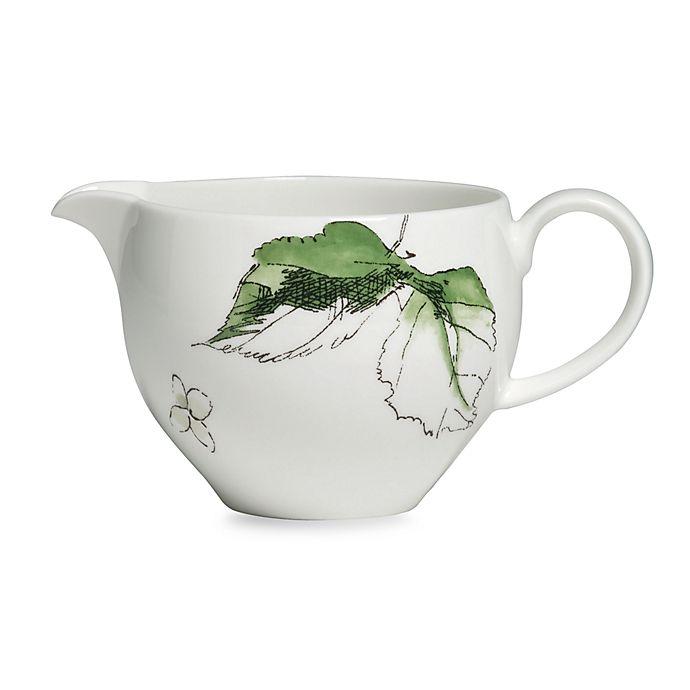 Alternate image 1 for Vera Wang Wedgwood® Floral Leaf Creamer