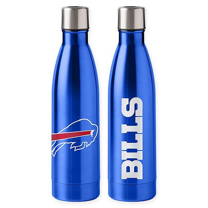 Alternate image 1 for NFL Buffalo Bills 18 oz. Stainless Steel Water Bottle