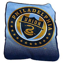 Philadelphia Union Raschel Throw Blanket