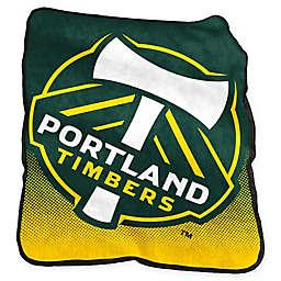 Portland Timbers Raschel Throw Blanket