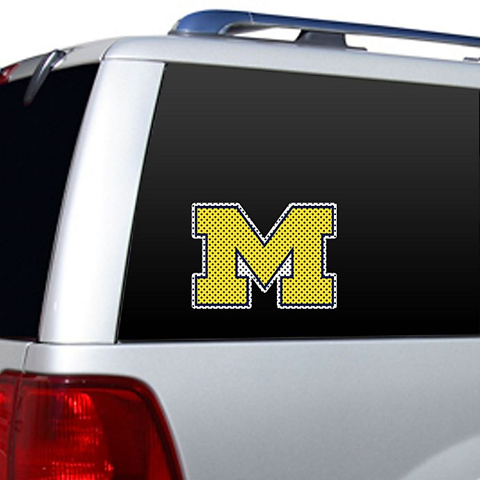 Alternate image 1 for University of Michigan Logo Window Film