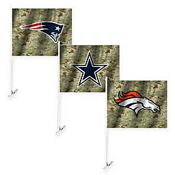 NFL Camo Car Flag Collection