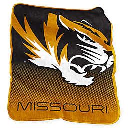 University of Missouri Raschel Throw Blanket