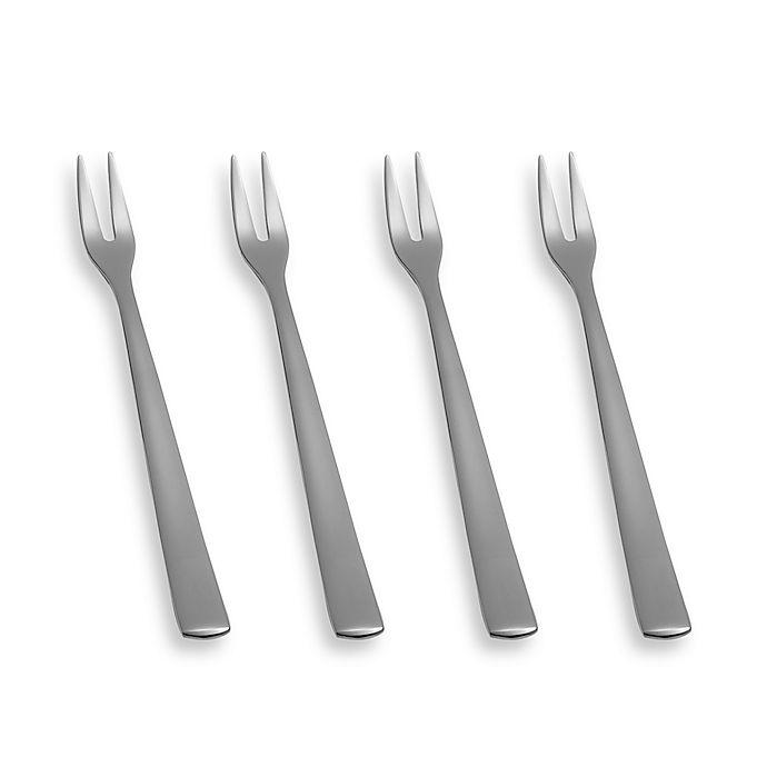 Alternate image 1 for Bistro Cocktail Frank Forks (Set of 4)
