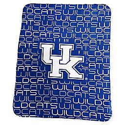 University of Kentucky Classic Fleece Throw