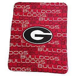 University of Georgia Classic Fleece Throw