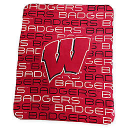 University of Wisconsin Classic Fleece Throw