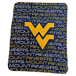 West Virginia University Classic Fleece Throw