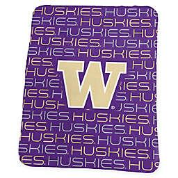 University of Washington Classic Fleece Throw