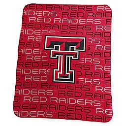 Texas Tech University Classic Fleece Throw