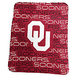 University of Oklahoma Classic Fleece Throw