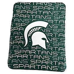 Michigan State University Classic Fleece Throw