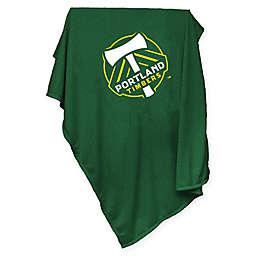 MLS Portland Timbers Sweatshirt Throw Blanket