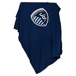 MLS Sporting Kansas City Sweatshirt Throw Blanket