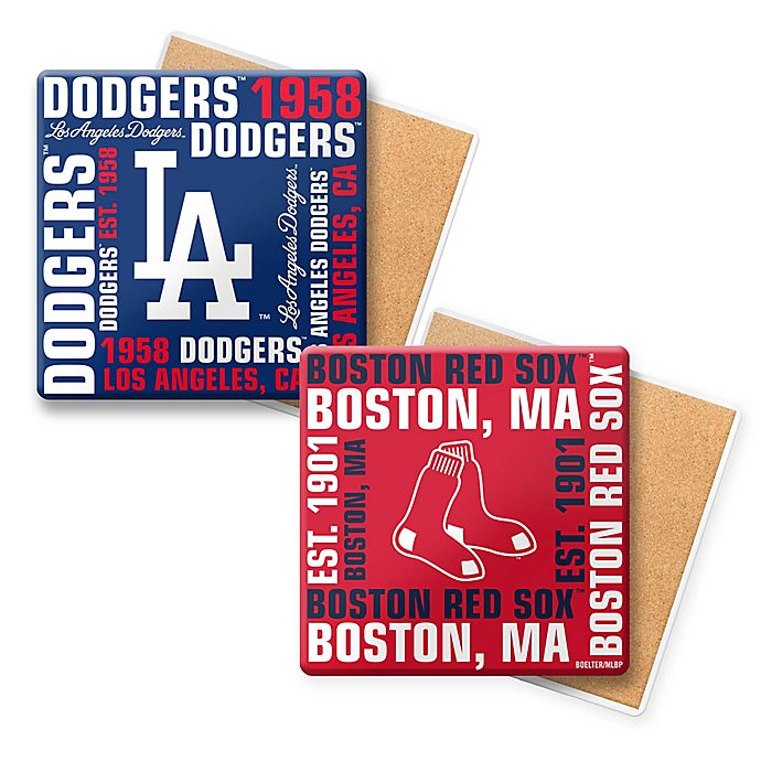 Alternate image 1 for MLB Coasters (Set of 6) Collection