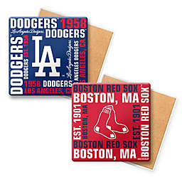 MLB Coasters (Set of 6) Collection