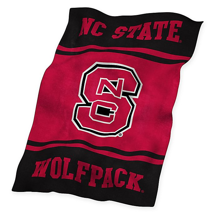 Alternate image 1 for North Carolina State University UltraSoft Blanket