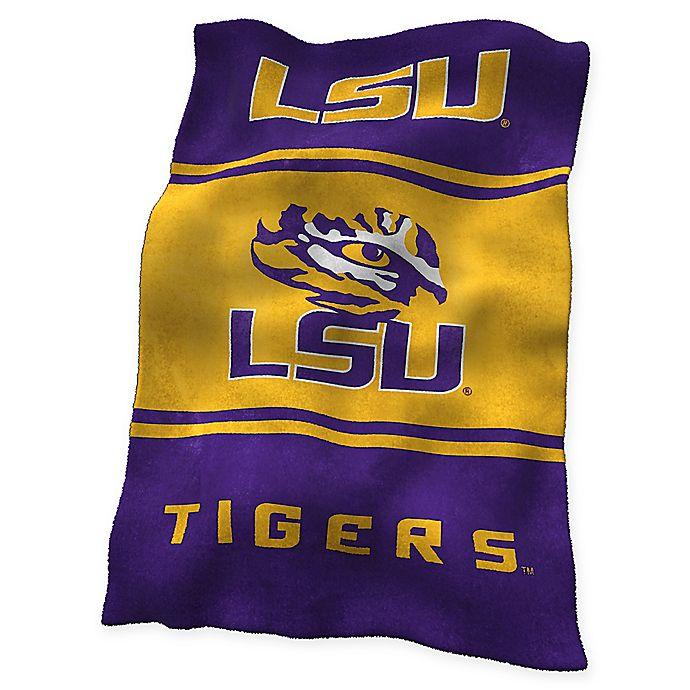 Alternate image 1 for Louisiana State University UltraSoft Blanket