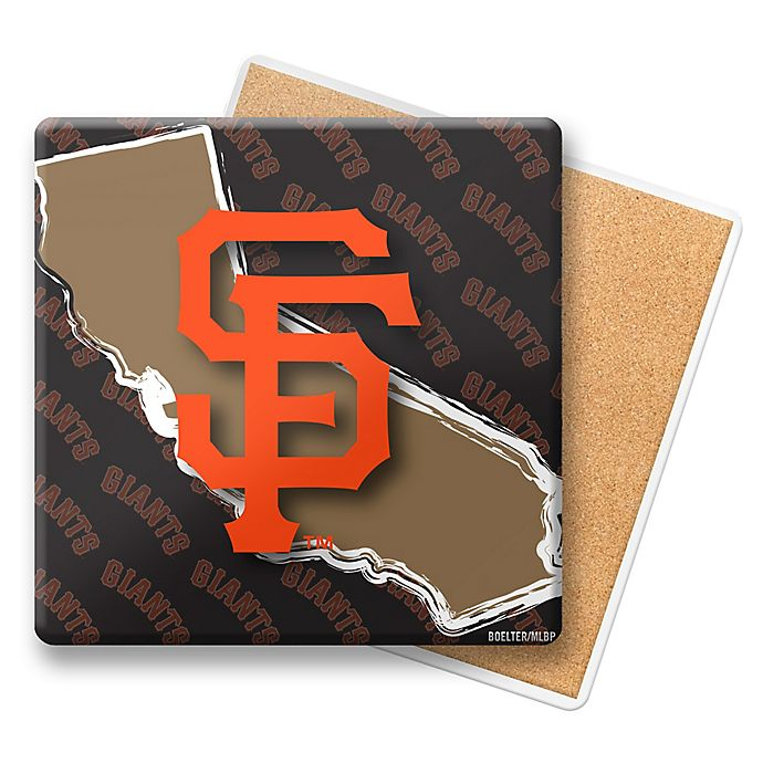 Alternate image 1 for MLB San Francisco Giants State Coasters (Set of 6)