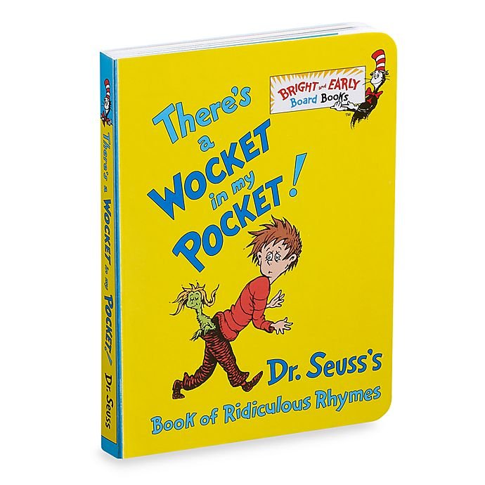 Alternate image 1 for Dr. Seuss' There's a Wocket in My Pocket Book