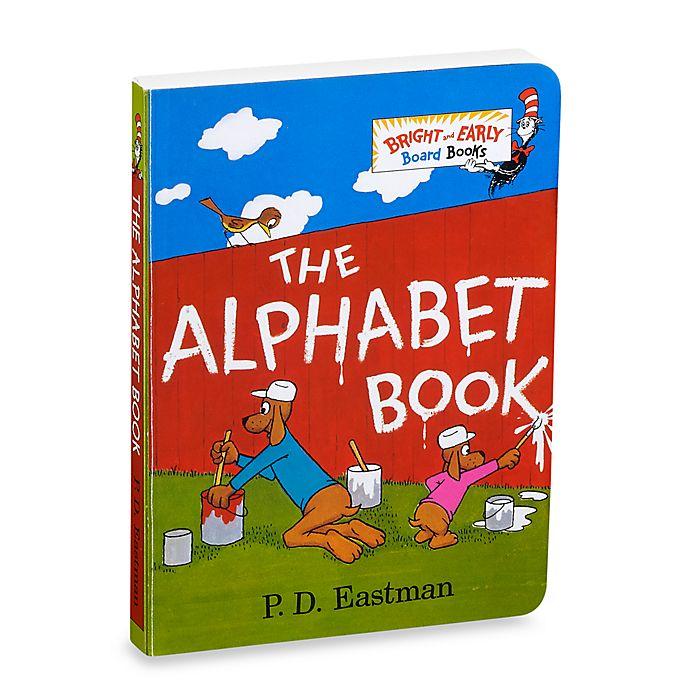 Alternate image 1 for Dr. Seuss' The Alphabet Book