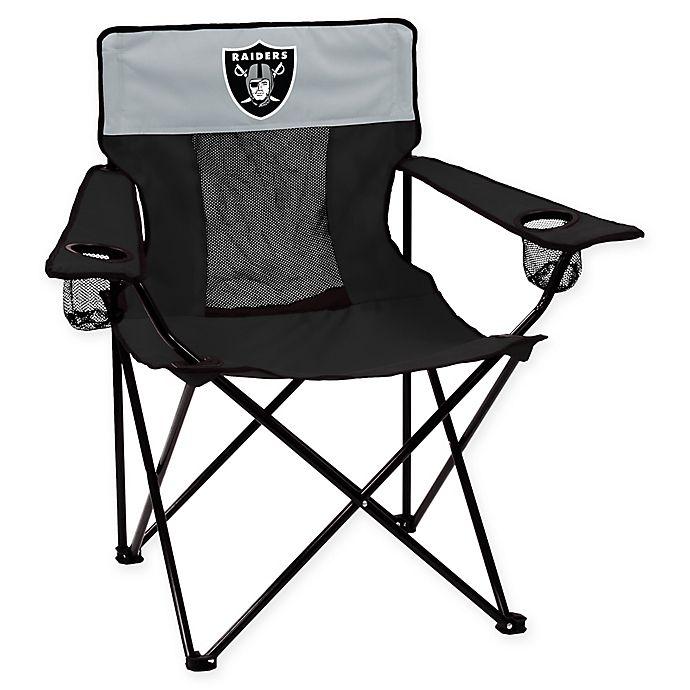 Swell Nfl Oakland Raiders Elite Chair Bed Bath Beyond Machost Co Dining Chair Design Ideas Machostcouk