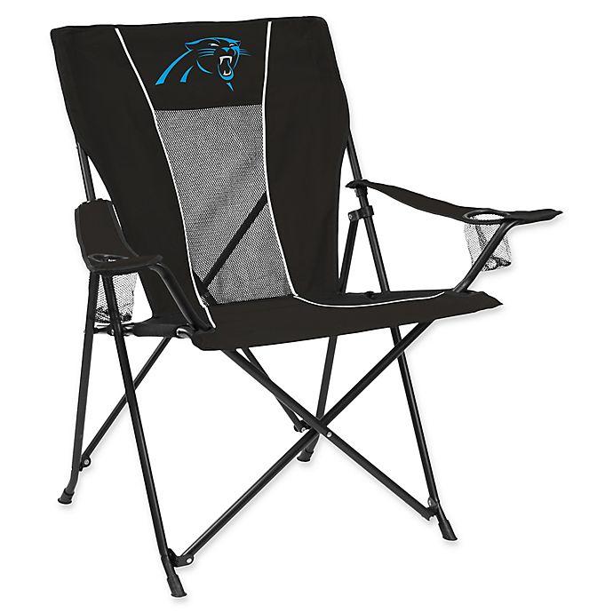 Astounding Nfl Carolina Panthers Folding Gametime Chair Bed Bath Beyond Lamtechconsult Wood Chair Design Ideas Lamtechconsultcom