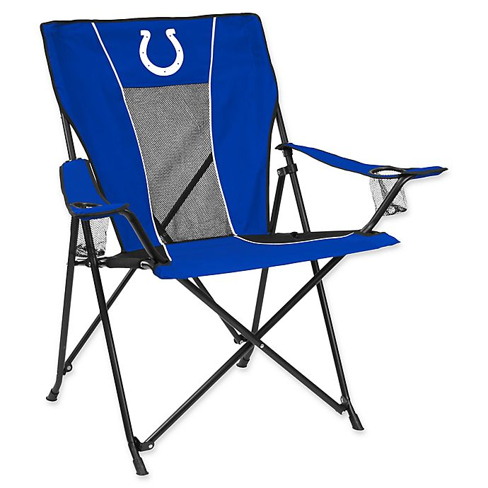 Alternate image 1 for NFL Indianapolis Colts Folding GameTime Chair