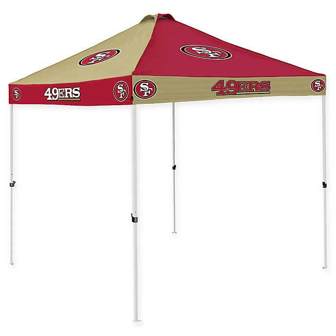 Alternate image 1 for NFL San Francisco 49ers Checkerboard Tailgate Tent