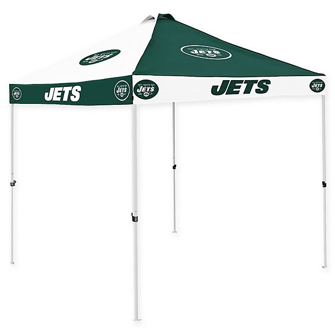 Alternate image 1 for NFL New York Jets Checkerboard Tailgate Tent