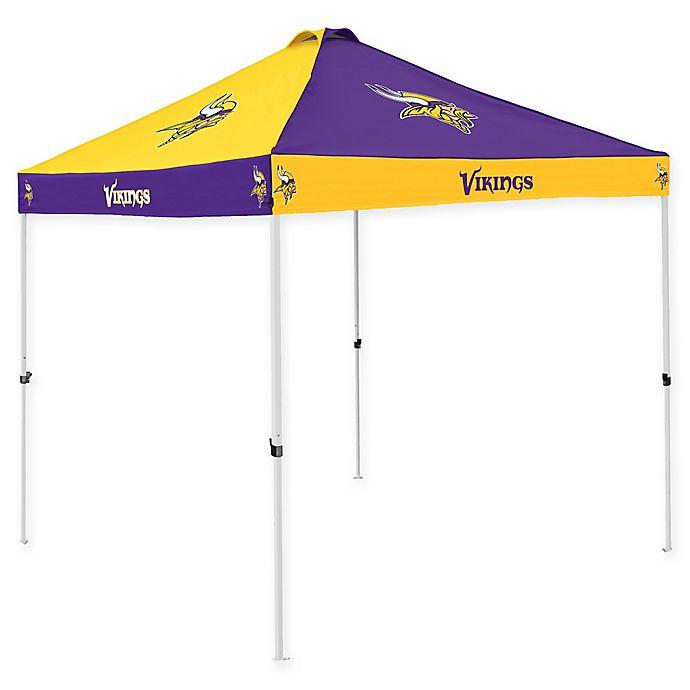 Alternate image 1 for NFL Minnesota Vikings Checkerboard Tailgate Tent