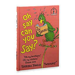 Dr. Seuss' Say Can U Say Book