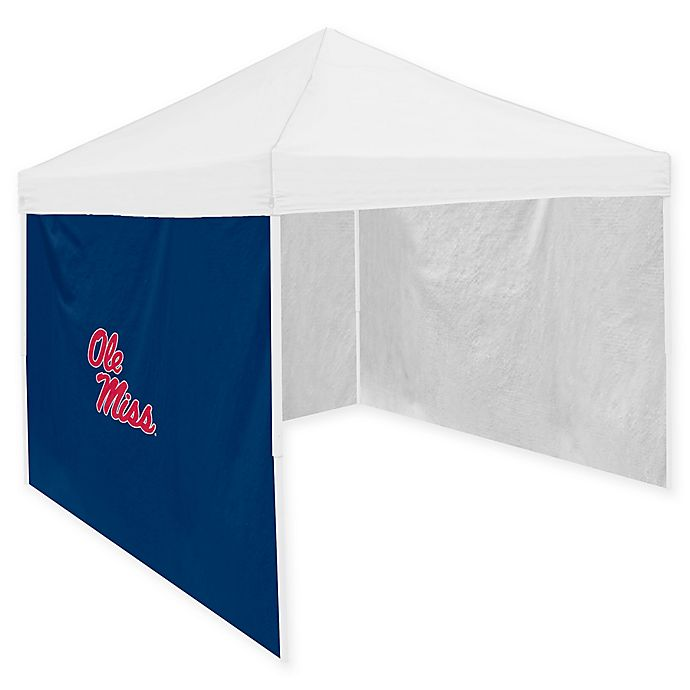 Alternate image 1 for Ole Miss 9-Foot x 9-Foot Canopy Side Panel