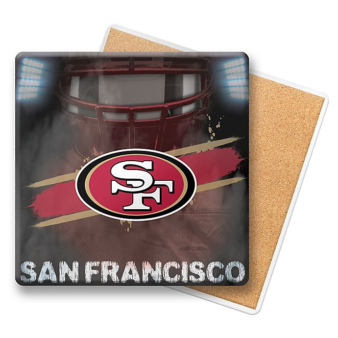 Alternate image 1 for NFL San Francisco 49ers Player Coasters (Set of 6)