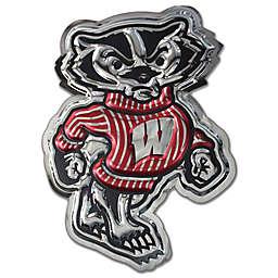 University of Wisconsin Medium Bucky Badger Mascot Wall Art