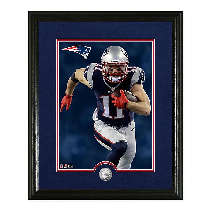 Alternate image 1 for NFL Julian Edelman Canvas Art Silver Coin Photo Mint