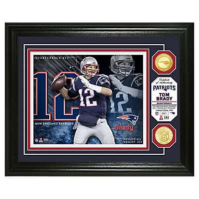NFL Tom Brady Bronze Coin Photo Mint
