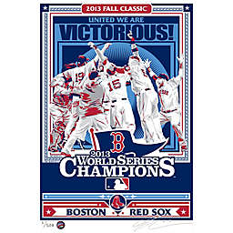 MLB Boston Red Sox 2013 World Series Champs That's My Ticket Serigraph