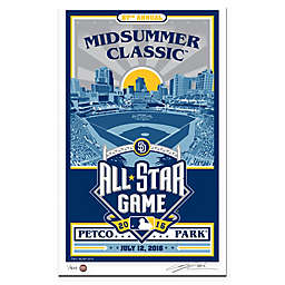 MLB 2016 All-Star Game San Diego Stadium That's My Ticket Serigraph