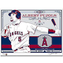 MLB Los Angeles Angels Albert Pujols erigraph