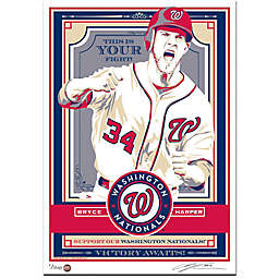 MLB Washington Nationals Bryce Harper Serigraph