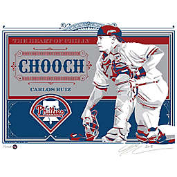 MLB Philadelphia Phillies Carlos Ruiz That's My Ticket Serigraph