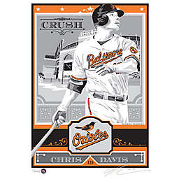 MLB Baltimore Orioles Chris Davis That's My Ticket Serigraph