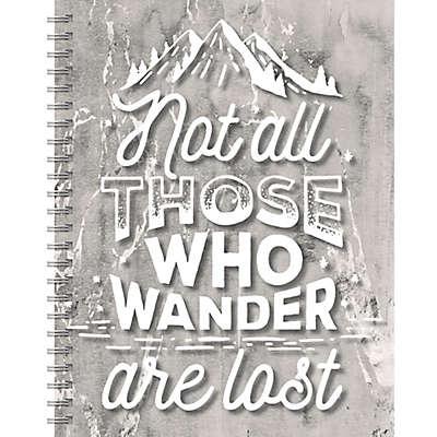 TF Publishing Wanderlust Spiral Journal