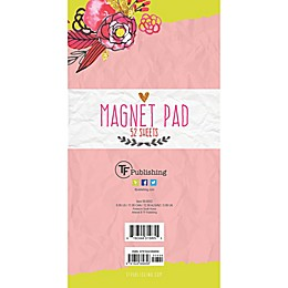 TF Publishing Flowers Memo Magnet Pad