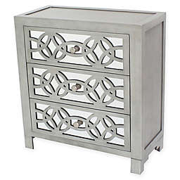 River of Goods Glam Slam 3-Drawer Chest